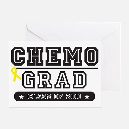chemoyellowribbon Greeting Card