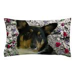 Sebastian Welsh Corgi Flowers Pillow Case