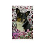 Sebastian Welsh Corgi Flowers 3'x5' Area Rug