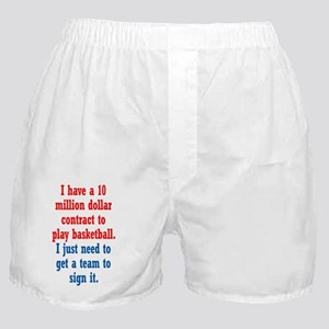 basketball-contract_tall1 Boxer Shorts