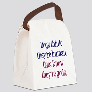 dogs-cats1 Canvas Lunch Bag