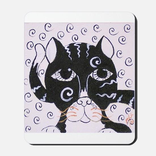 Chatt Noir Mousepad
