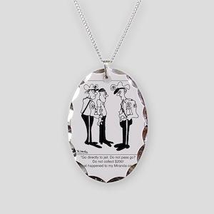 3830_miranda_cartoon Necklace Oval Charm