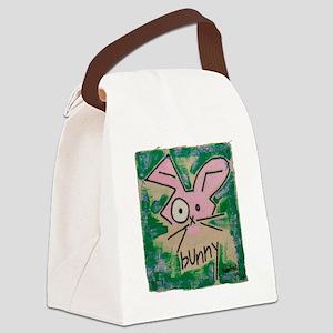 bunny copy Canvas Lunch Bag