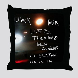 JoyceRuin Throw Pillow