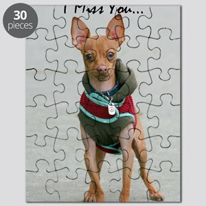 I Miss you chihuahua Puzzle
