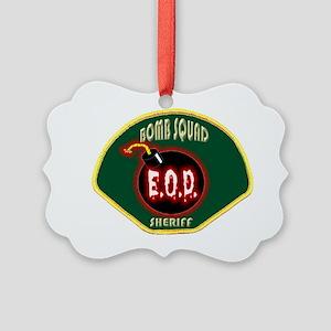 SHERIFFBOMB Picture Ornament