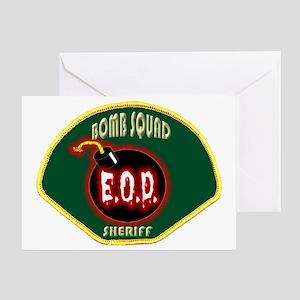 SHERIFFBOMB Greeting Card