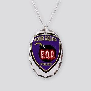 POLICEBOMB Necklace Oval Charm