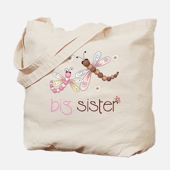big sister drgonfly 2 Tote Bag