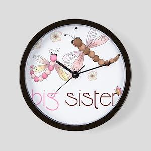 big sister drgonfly 2 Wall Clock