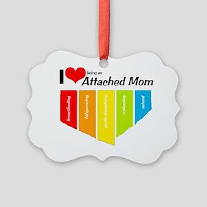 heartmom Picture Ornament