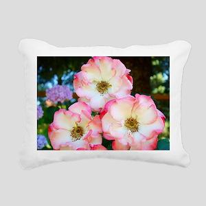A Rose Pink 17M Roses Ro Rectangular Canvas Pillow