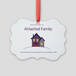 attachedfamily Picture Ornament