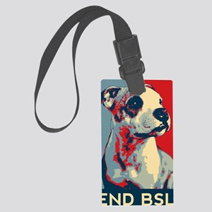 Violet End BSL image Large Luggage Tag