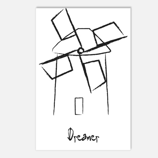 Dreamer.gif Postcards (Package of 8)