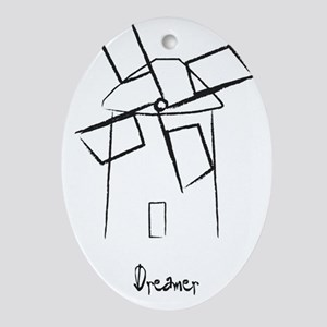 Dreamer Oval Ornament