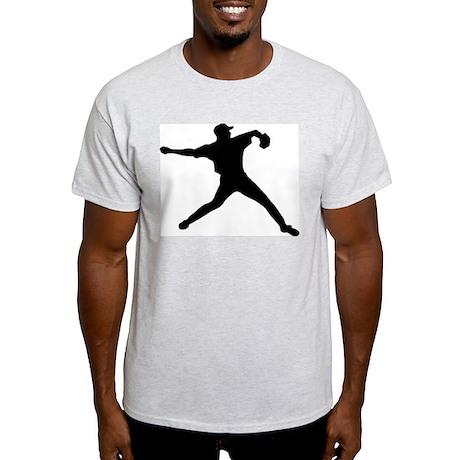 Baseball Ash Grey T-Shirt