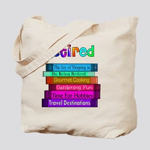 Retired BOOK STACK Tote Bag