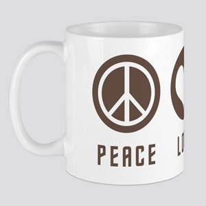 peacelovegorn3brown Mug