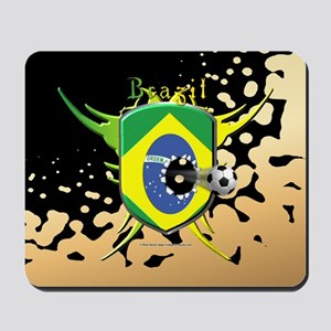 Brazil Soccer Breakthrough Mousepad