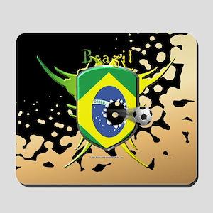 Brazil Soccer Breakthrough Mousepad