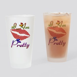 pretty Drinking Glass