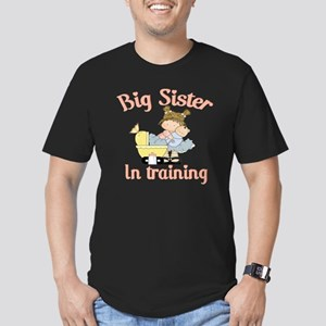 big sister training Men's Fitted T-Shirt (dark)