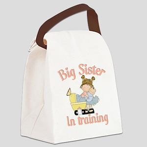 big sister training Canvas Lunch Bag