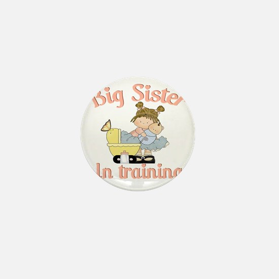 big sister training Mini Button