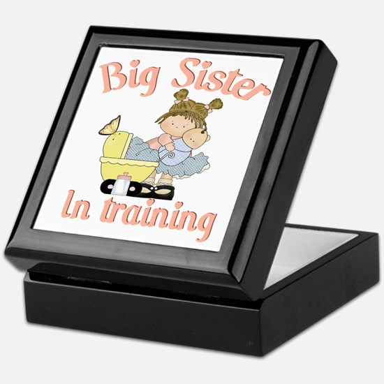 big sister training Keepsake Box