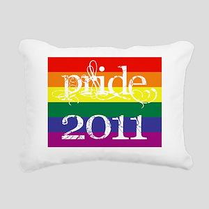 script-Pride-2011 Rectangular Canvas Pillow