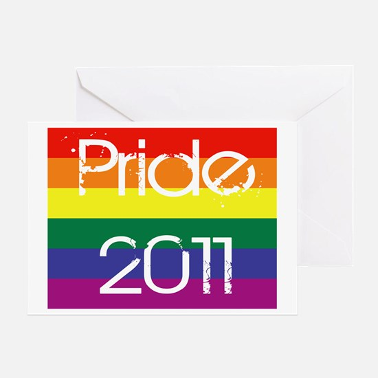 Pride-Birth-of-a-hero-2011 Greeting Card