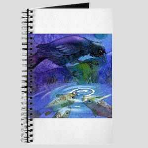 Crow/Raven and Koi Fish Journal