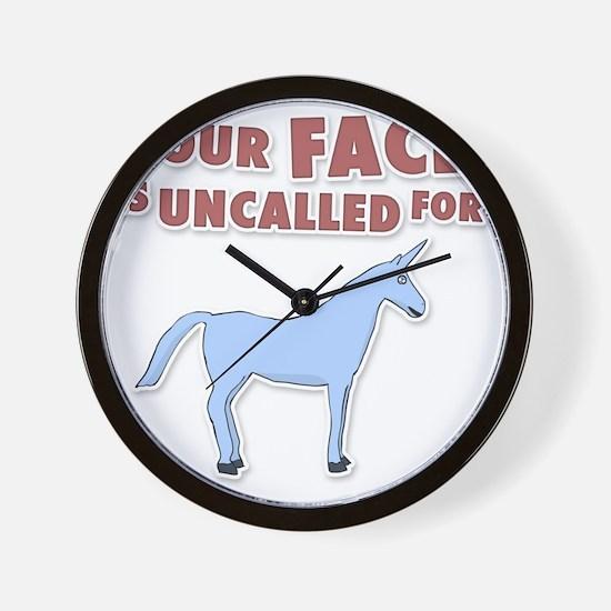 unicron-D3-WhiteApparel Wall Clock
