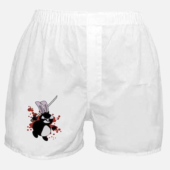 Ninja Bunny Boxer Shorts