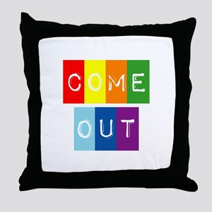 Dark-Dont-hide-come-out Throw Pillow