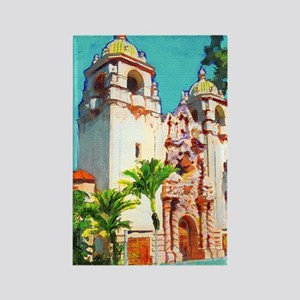 del prado theater Balboa Park Ric Rectangle Magnet