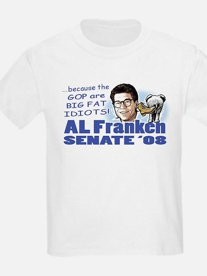 Al Franken Senate 2008 Kids T-Shirt