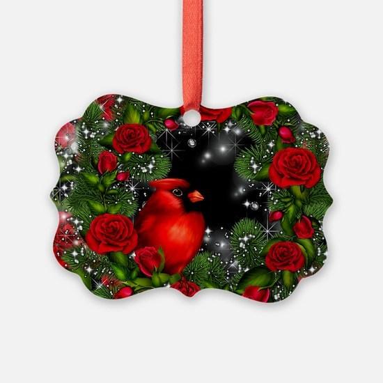 SPARKLING CARDINAL Ornament