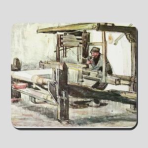 Van Gogh The Weaver Mousepad