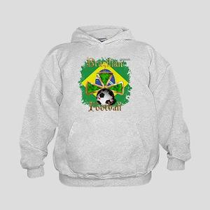 Brazil Football Spice Kids Hoodie