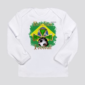 Brazil Football Spice Long Sleeve Infant T-Shirt