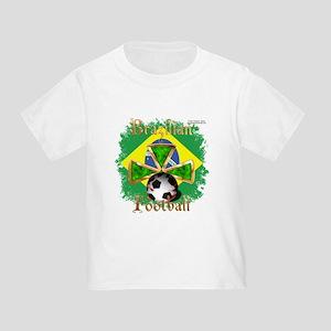 Brazil Football Spice Toddler T-Shirt