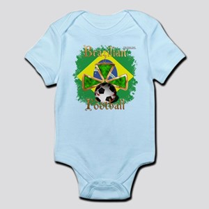 Brazil Football Spice Infant Bodysuit