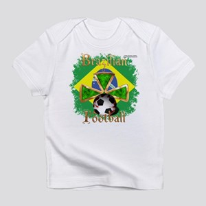 Brazil Football Spice Infant T-Shirt