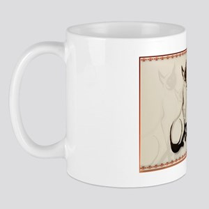 Two Siamese Cats-Yardsign Mug