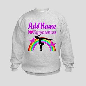TALENTED GYMNAST Kids Sweatshirt