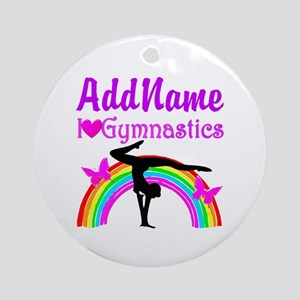 TALENTED GYMNAST Ornament (Round)