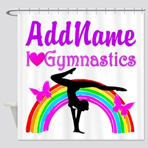 TALENTED GYMNAST Shower Curtain